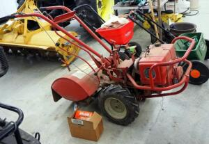 "Troy Bilt 20"" Horse Rear Tine Tiller With Kohler 8 HP Motor, Includes Extra Filter And Assorted Parts"