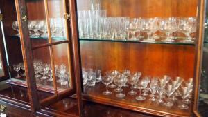 Crystal Glass Wheat Themed Drinkware, Brandy Snifter, Glasses, Tumblers, Goblets, Cordials, And More