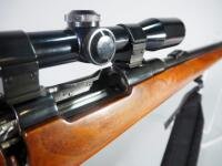 Japanese Arisaka 6.5mm/ .257 Roberts Bolt Action Rifle SN# 7798, With Maverick 3x-9x32 Scope And Padded Sling - 16
