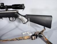 Savage 93R17 .17 HMR Bolt Action Rifle SN# 2211105, With BSA Deerhunter 3-9x40 Scope And Camo Sling - 2