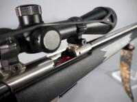 Savage 93R17 .17 HMR Bolt Action Rifle SN# 2211105, With BSA Deerhunter 3-9x40 Scope And Camo Sling - 17