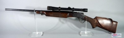 Sharps Model 1878 .22 Hornet Lever Action Rifle SN# 9848, With Weaver K10 Scope And Sling Rings