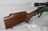 Sharps Model 1878 .22 Hornet Lever Action Rifle SN# 9848, With Weaver K10 Scope And Sling Rings - 9