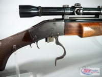 Sharps Model 1878 .22 Hornet Lever Action Rifle SN# 9848, With Weaver K10 Scope And Sling Rings - 14