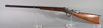 Winchester Model 1885 .32 WCF Lever Action Rifle SN# 29762, With Peep Sight