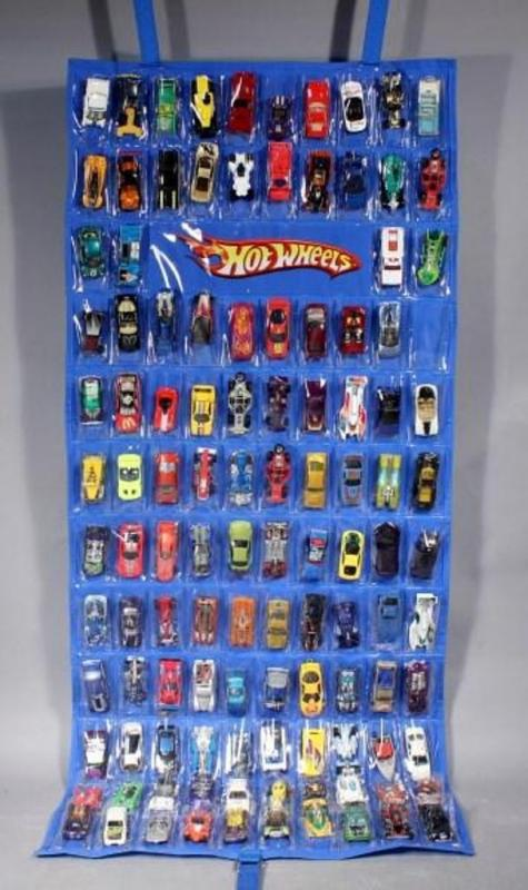 Toy Car Case : Hot wheels toy car diecast storage hanging display