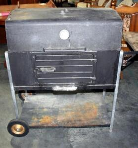 "Char-Broil Grill 220A 49""L with Charcoal and Cleaning Brush"