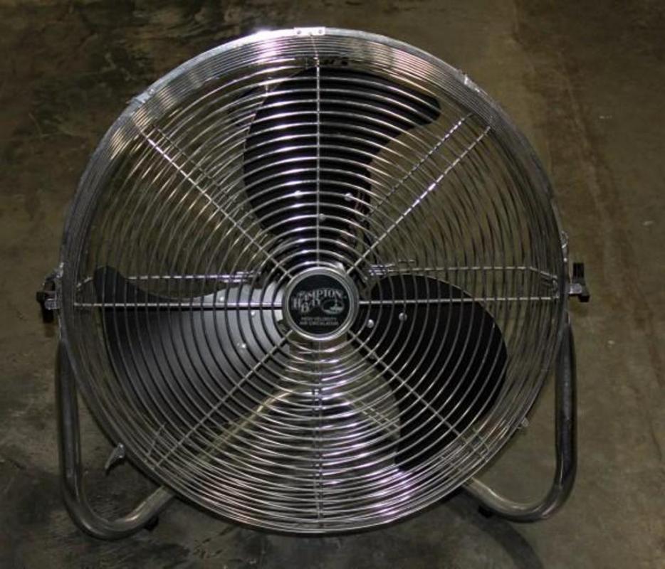 Hampton Bay High Velocity Floor Fan Model Hbf20 24 Quot Tall