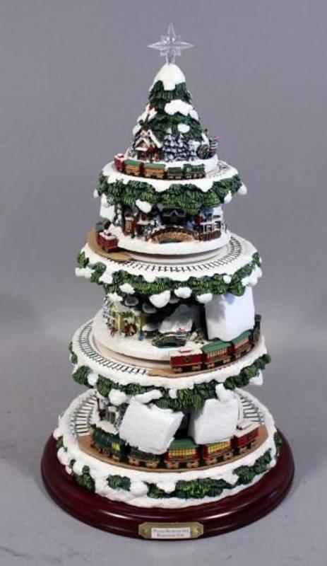 Thomas Kinkade Wonderland Express Christmas Tree Masterpiece Edition