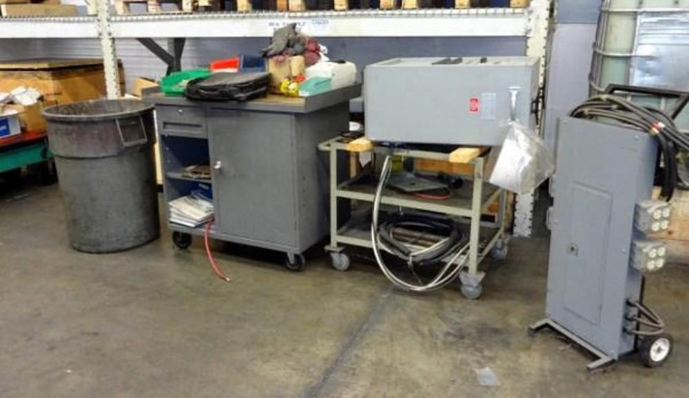 Portable Electrical Panel On Rolling Base, Simplx Swift-E