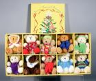 "Quacker Factory ""Beary Special Ornaments"" Boxed Set of 10 Collectible Ornaments, Unused"