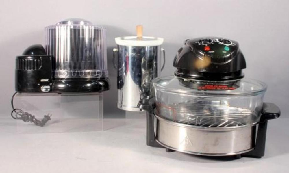 Lot 159 Of 269: Ultrex 1 Quart Electric Ice Cream Maker, Fagor Tabletop  Halogen Oven, Wine/Ice Bucket