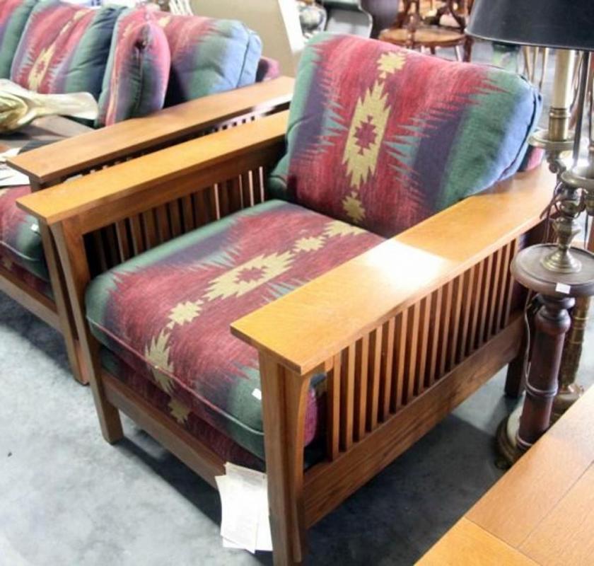 Bassett Mission Style Sofa