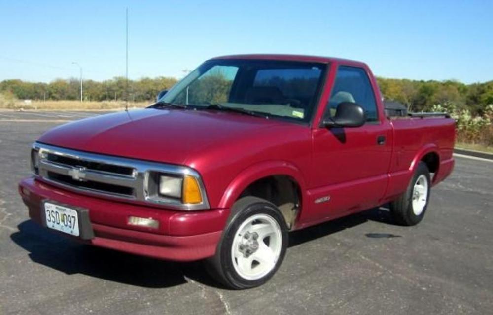 1997 chevrolet s10 pickup truck 5 speed manual vin 1gccs1446v8167448 rh bid auctionbymayo com 1997 Chevy S10 Ext Cab 1997 Chevy S10 Trunk