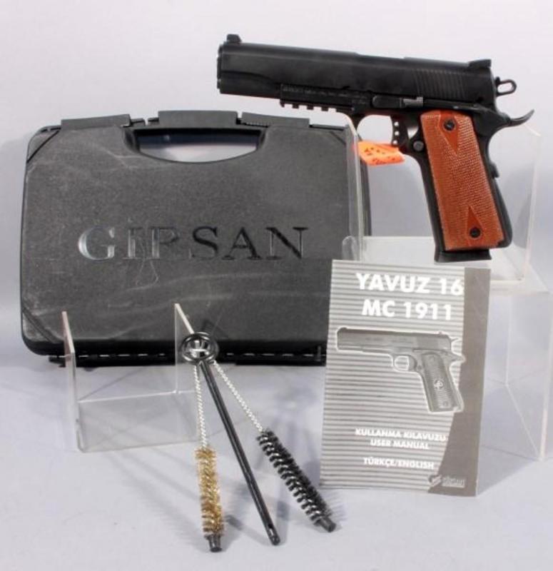 Girsan MC 1911 S  45 ACP Pistol, Unfired With Case
