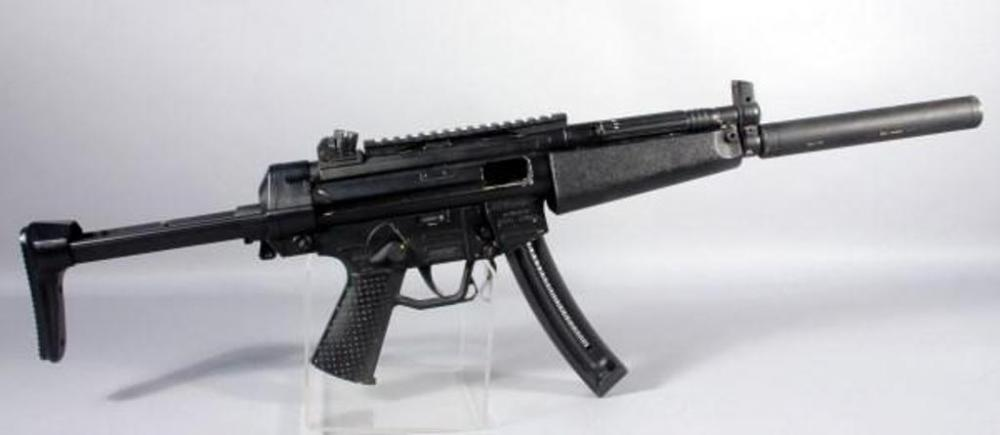Ati Gsg 522 Semi Automatic Rifle 22 Lr Hv W Banana Clip