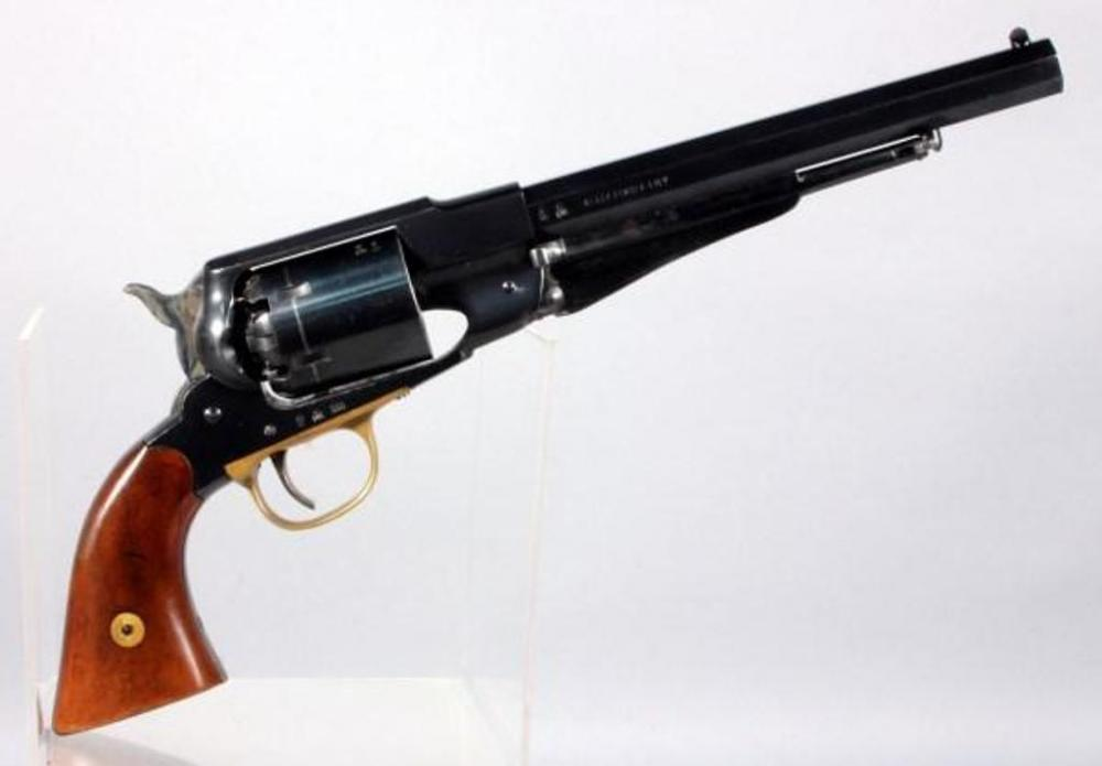 hy score arms new army model black powder revolver 44 cal