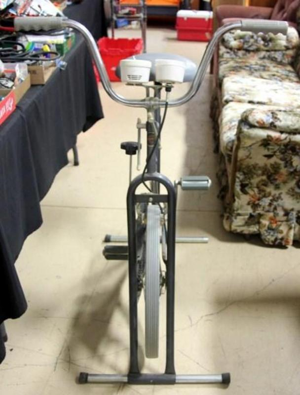 Vintage Huffy Exercise Bicycle With Timer
