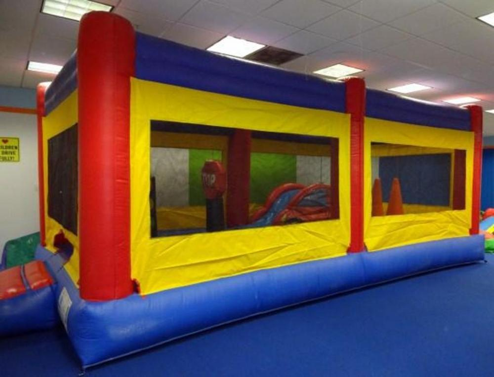 Magic Jump Inflatable Large Toddler Town Bounce House And B Air