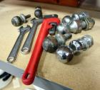 "6 Hitch Balls, 2 Crescent Wrenches, 18"" Heavy Duty Pipe Wrench, See Description"