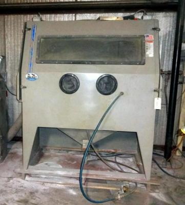 Skat Blast Dry Blast System with Side Entry Blasting Cabinet and Dust Collector, Buyer Responsible for Proper Removal