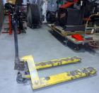 Tricam Pallet Jack, Model MH-1230, 5,500lbs Capacity, Original Manual, Some Damage to Forks