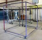 "Paint / Spray Booth Racks (4), 86""T x 84"" x 84"", 77""T x 68.5"" x 78"", 89.5""T x 75"" x 75"" and 89""T x 75"" x 75"""
