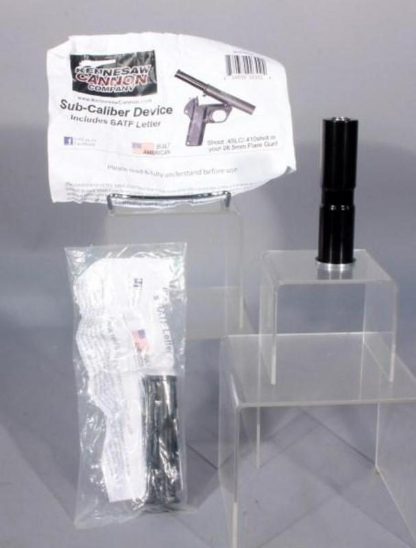 Kennesaw Cannon Sub-Caliber Conversion Device Kits For Flare Gun
