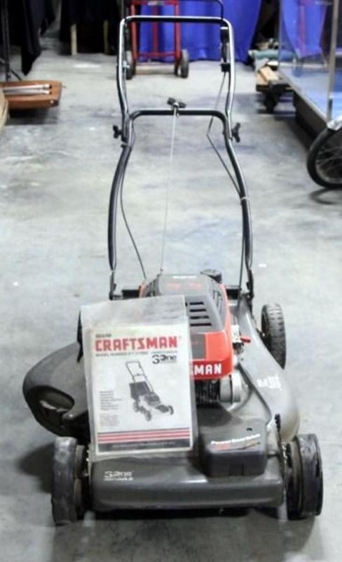 craftsman eager 1 lawn mower 5 5 horsepower includes owners manual rh bid auctionbymayo com craftsman eager 1 6.0 lawn mower manual craftsman eager 1 5.0 lawn mower manual