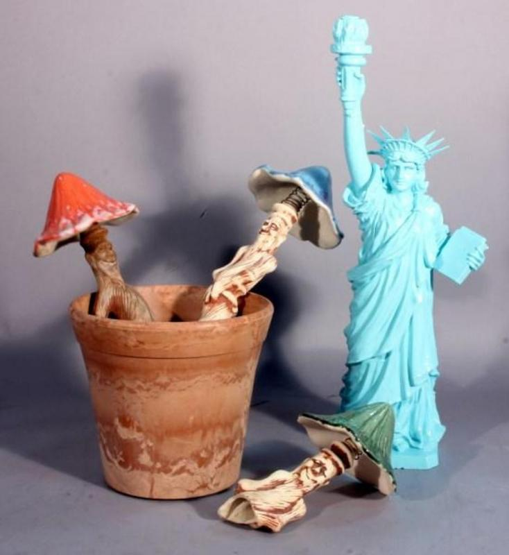 Unique Statue of Liberty Lawn Sprinkler 20