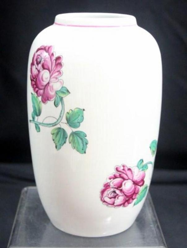 Tiffany Co Portugal Strasbourg Flowers Vase 8 Tall Some