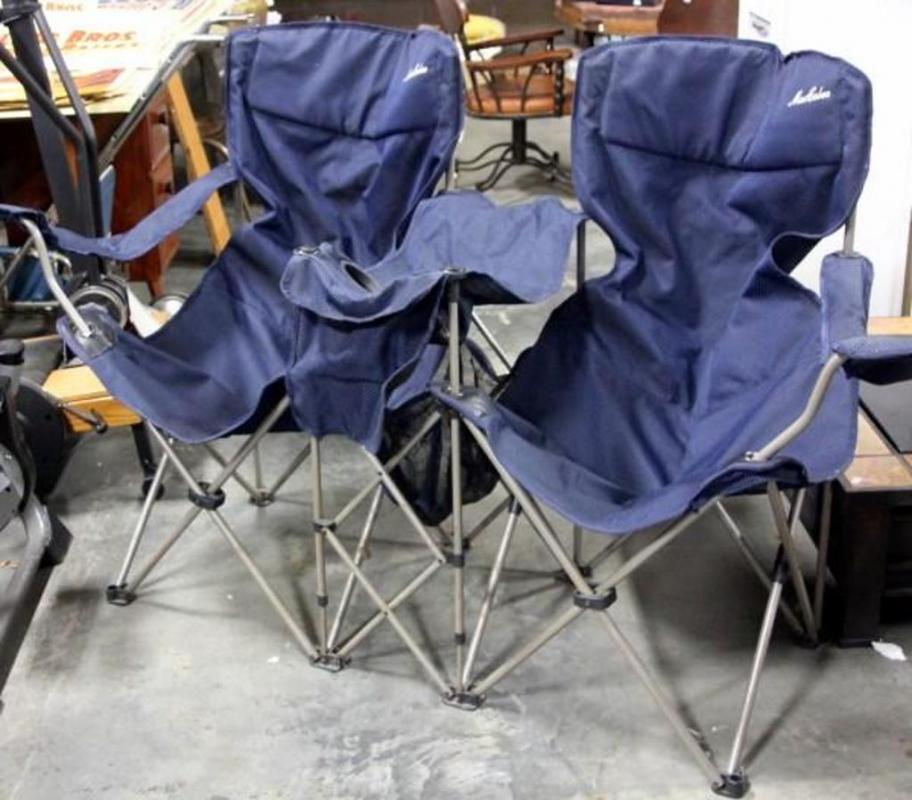 Awe Inspiring Maccabee Double Folding Camp Chair With Drink And Snack Caraccident5 Cool Chair Designs And Ideas Caraccident5Info