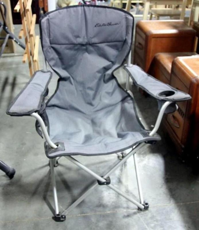 Peachy Eddie Bauer Folding Camp Chair 31W X 36H Caraccident5 Cool Chair Designs And Ideas Caraccident5Info