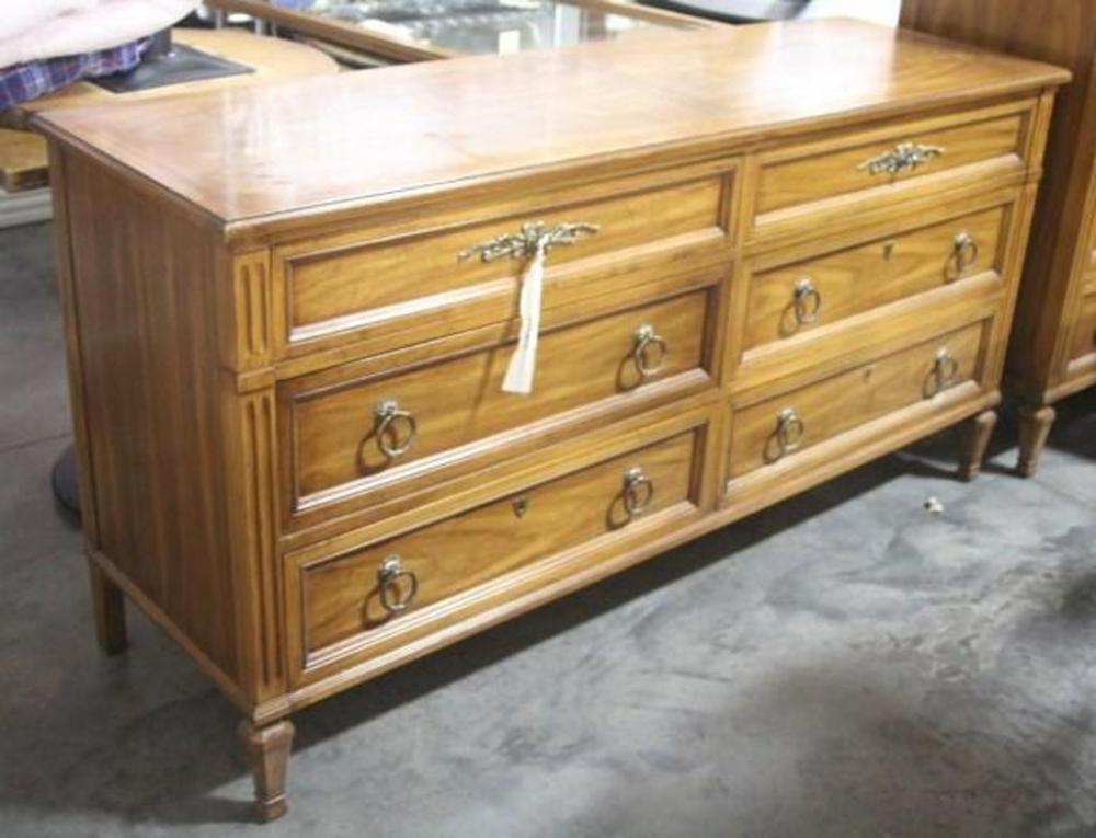 Lot 4 Of 346 White Fine Furniture Co Dresser 64 W X 32 H 20 D