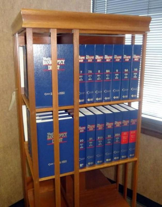 Law Books, Includes West's Bankruptcy Digest, 55 Volumes