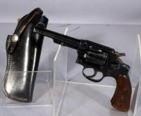 Smith & Wesson Regulation Police Revolver, .38 S & W, SN# 18538, with Leather Holster Marked 3122