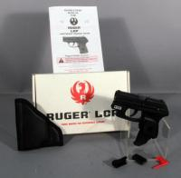 Ruger LCP Pistol, .380 Auto, SN# 371521238, Working Crimson Trace Laser, Conceal & Carry, Unfired in Box