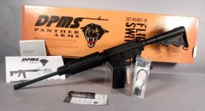 DPMS Panther Arms Model A-15 Tactical Rifle, .223-5.56MM, SN# N0028096, w Magazine, Manual & Tag, In Box Unfired