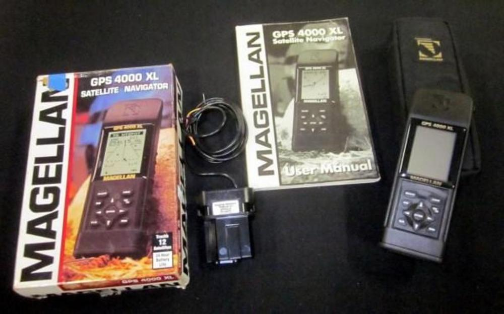magellan gps 4000 xl satellite navigator tracks 12 satellites w box rh bid auctionbymayo com Magellan User Manual Magellan GPS Models