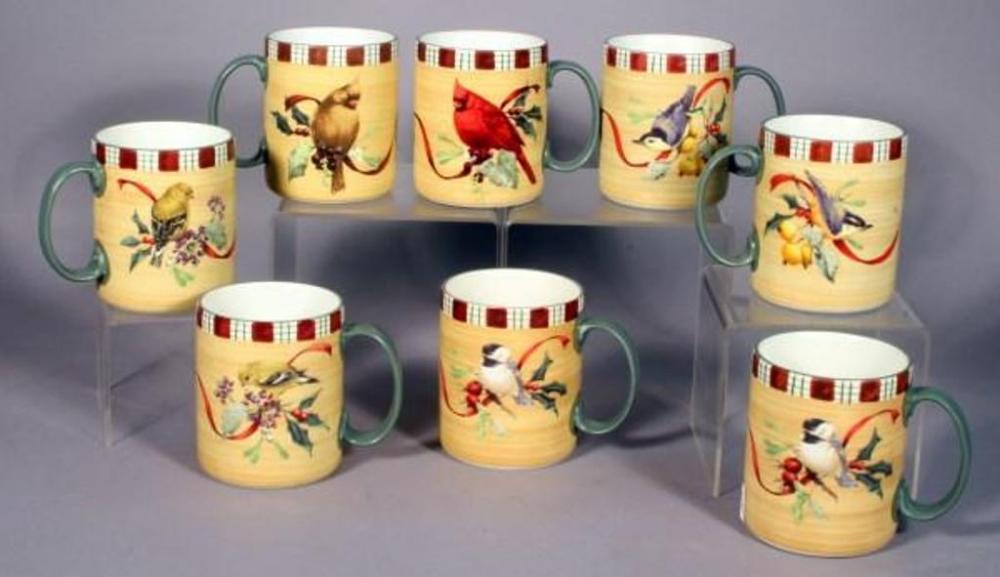 Lenox winter greetings everyday coffee mugs by catherine mcclung lot 265 of 476 lenox winter greetings everyday coffee mugs by catherine mcclung painted cardinal nuthatch goldfinch chickadee qty 8 m4hsunfo