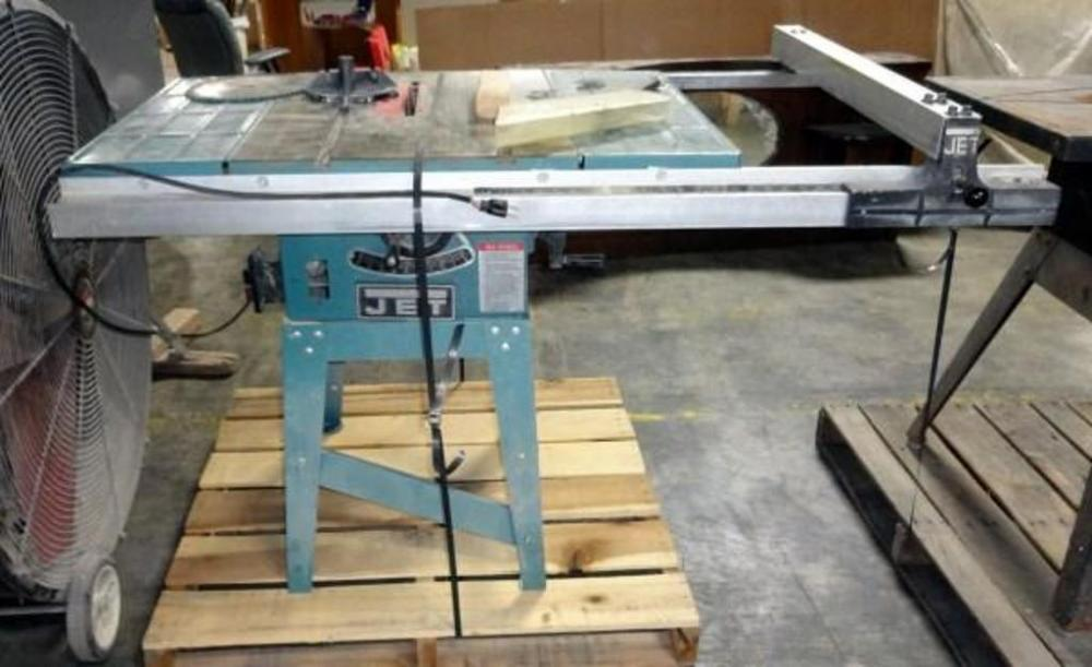Jet Equipment And Tools 10 Quot Table Saw W Precision Fence