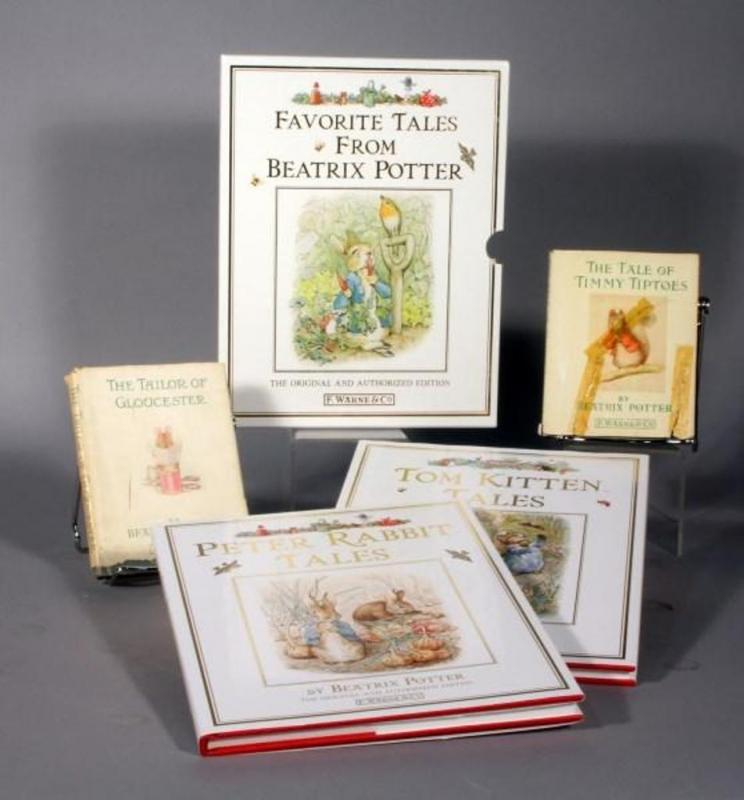 Beatrix Potter 1931 The Tailor Of Gloucester 1939 The Tale Of Timmy