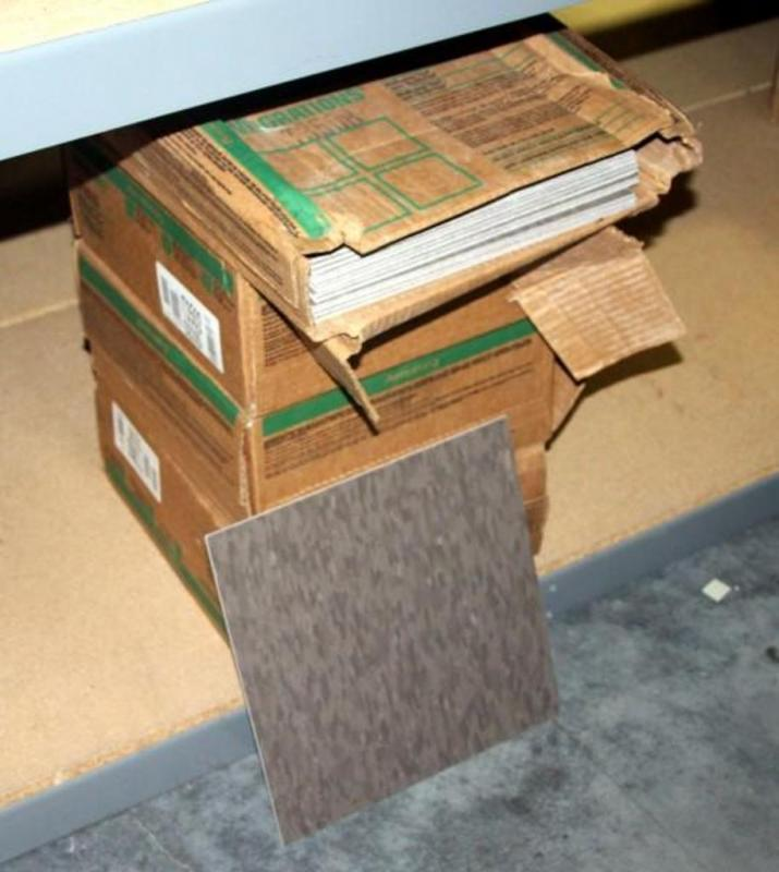 Armstrong T3502 Pumice Gray Commercial BioBased Tile with BioStride ...