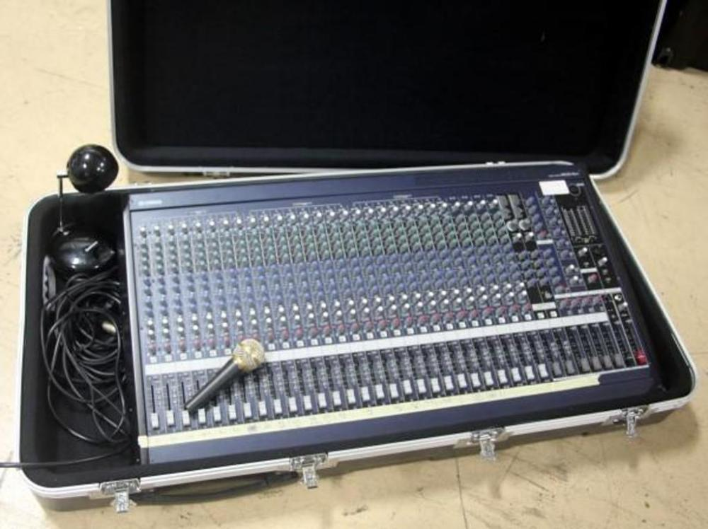 yamaha mg32 14fx 32 input channel mixing console board w power