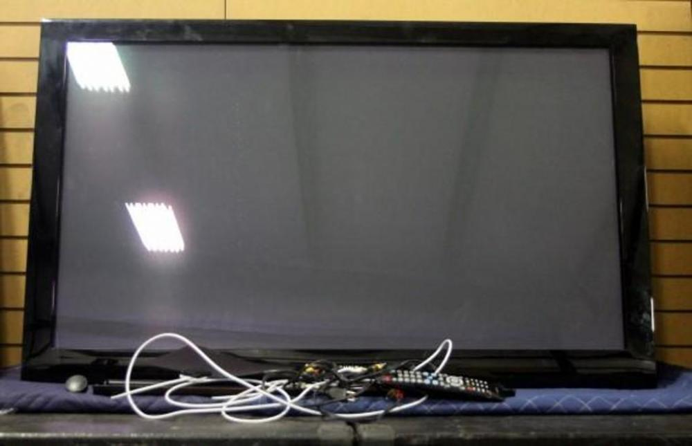 samsung flat screen tv on wall. lot 35 of 317: samsung pn50a460s4dxza 50\ flat screen tv on wall f