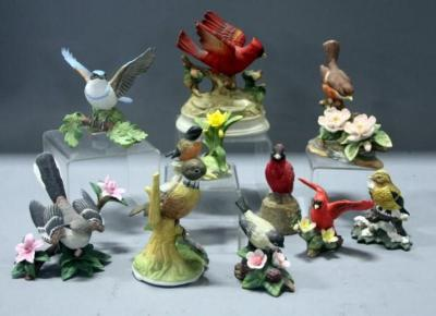 Image result for collection of ceramic birds