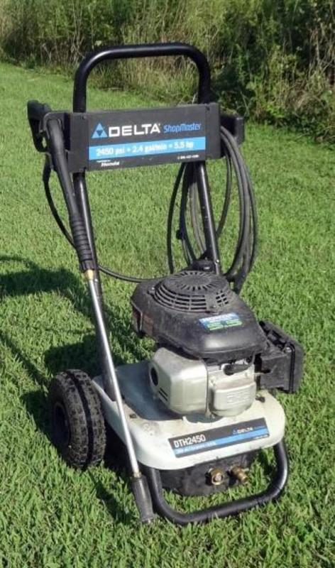 Delta Shopmaster Power Washer Model Dth2450 With Honda