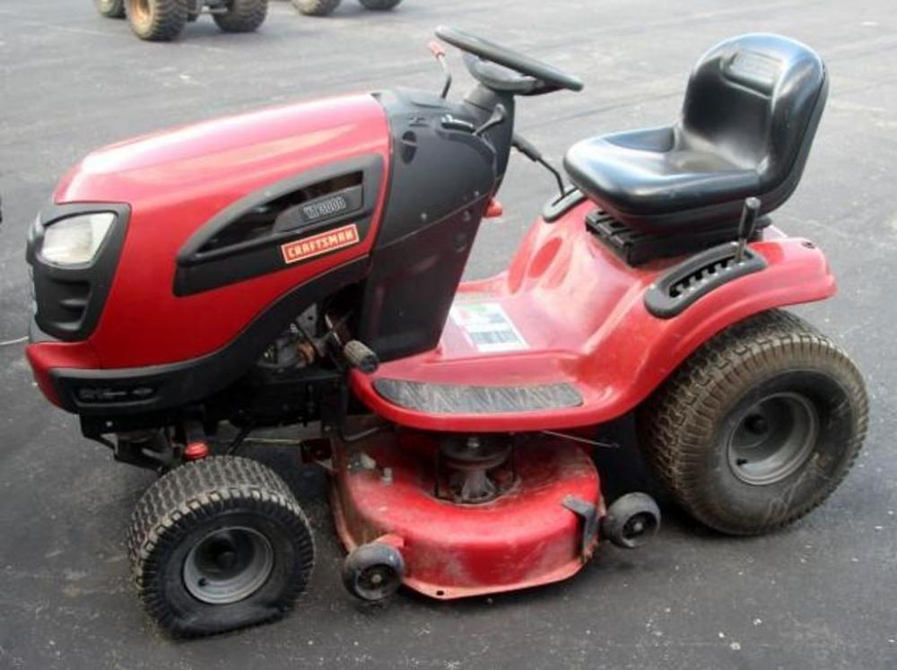 Craftsman lawn mower yt 3000 manual