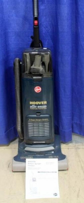 Lot 133 Of 497: Hoover Soft Guard Furniture Protection Upright Vacuum  Cleaner, Model U5251 900, Powers Up