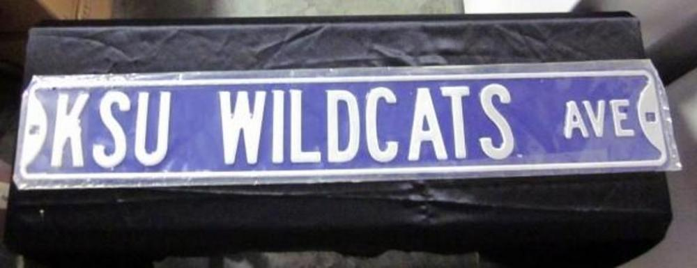 Authentic Street Signs Kansas State University K-State